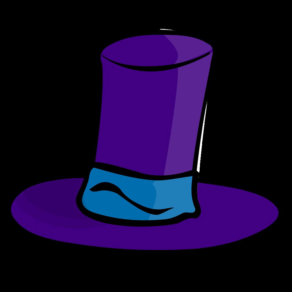 Hat cartoon clipart best for Transparent top design
