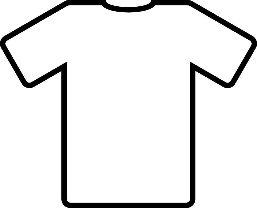 T Shirt Template For Kids - ClipArt Best