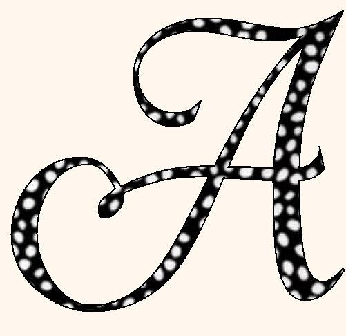 the letter t in fancy cursive