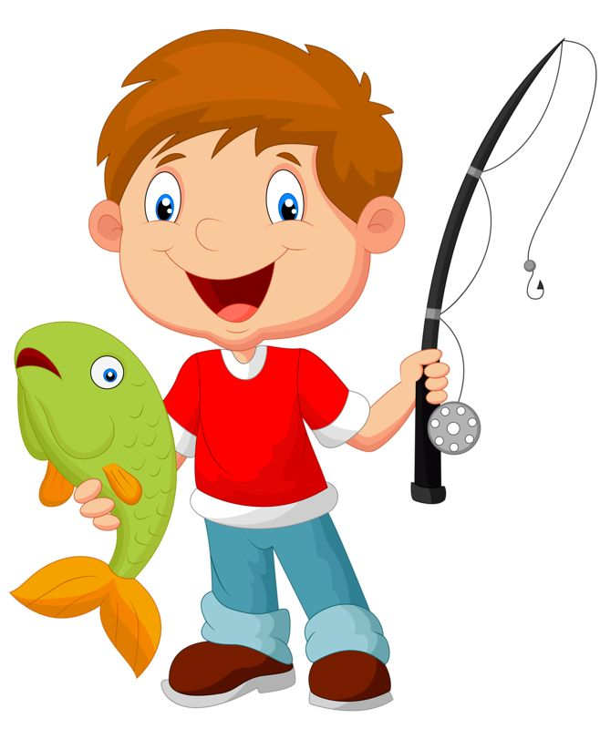 Kids Fishing Clip Art ...