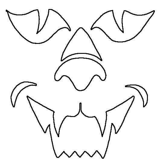 printable cat face coloring pages - photo#10