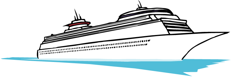 free clip art cartoon cruise ship - photo #12