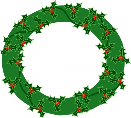 14 holiday garl... Free Holiday Clipart And Borders