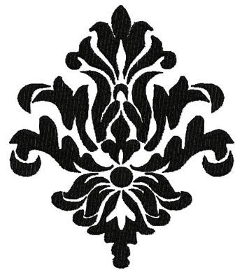 Damask Designs Clipart Best