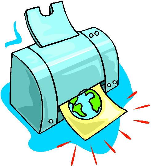 Рисунок принтера для детей