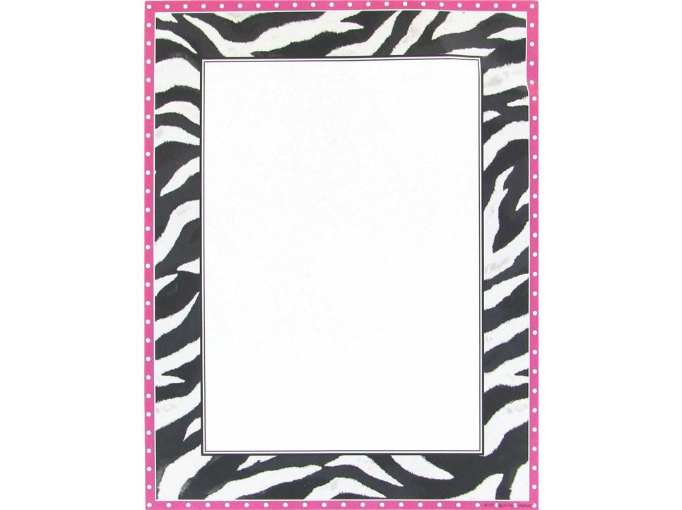 Free zebra print borderZebra Border