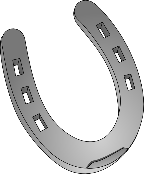Horseshoe Template Printable - ClipArt Best