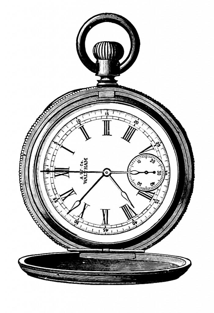 Clock Watch Drawing Steampunk Clip Art Watch Gears