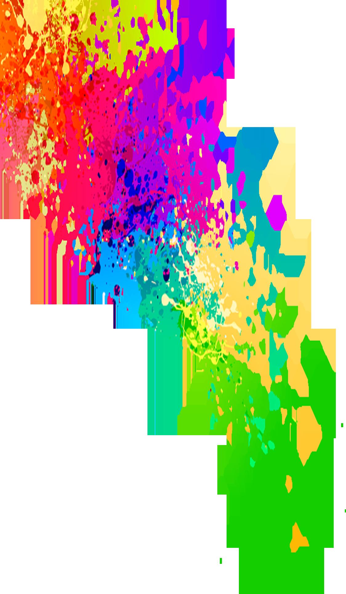 Как сделать потеки краски вшоп