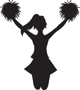 Lucrative image inside free printable cheerleading clipart