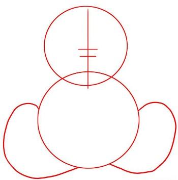 how to draw a teddy bear face