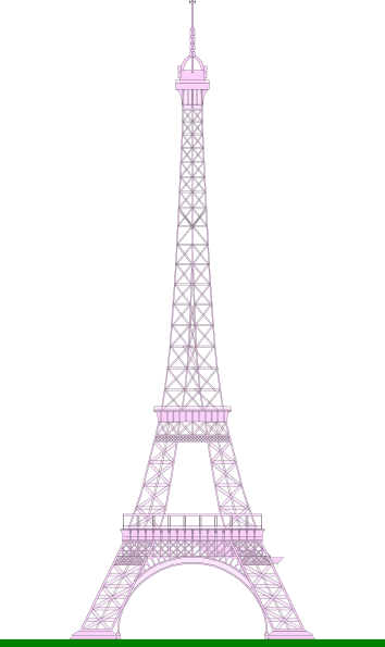 How To Draw Simple Eiffel Tower Clipart Best