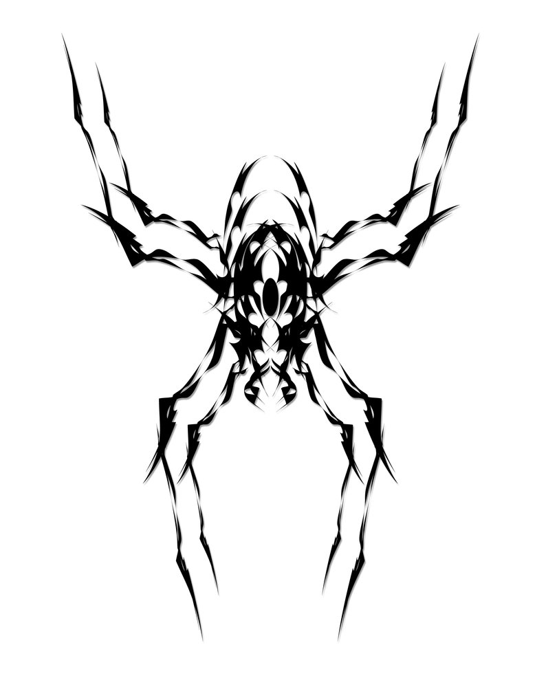 Tribal Spider - ClipArt Best