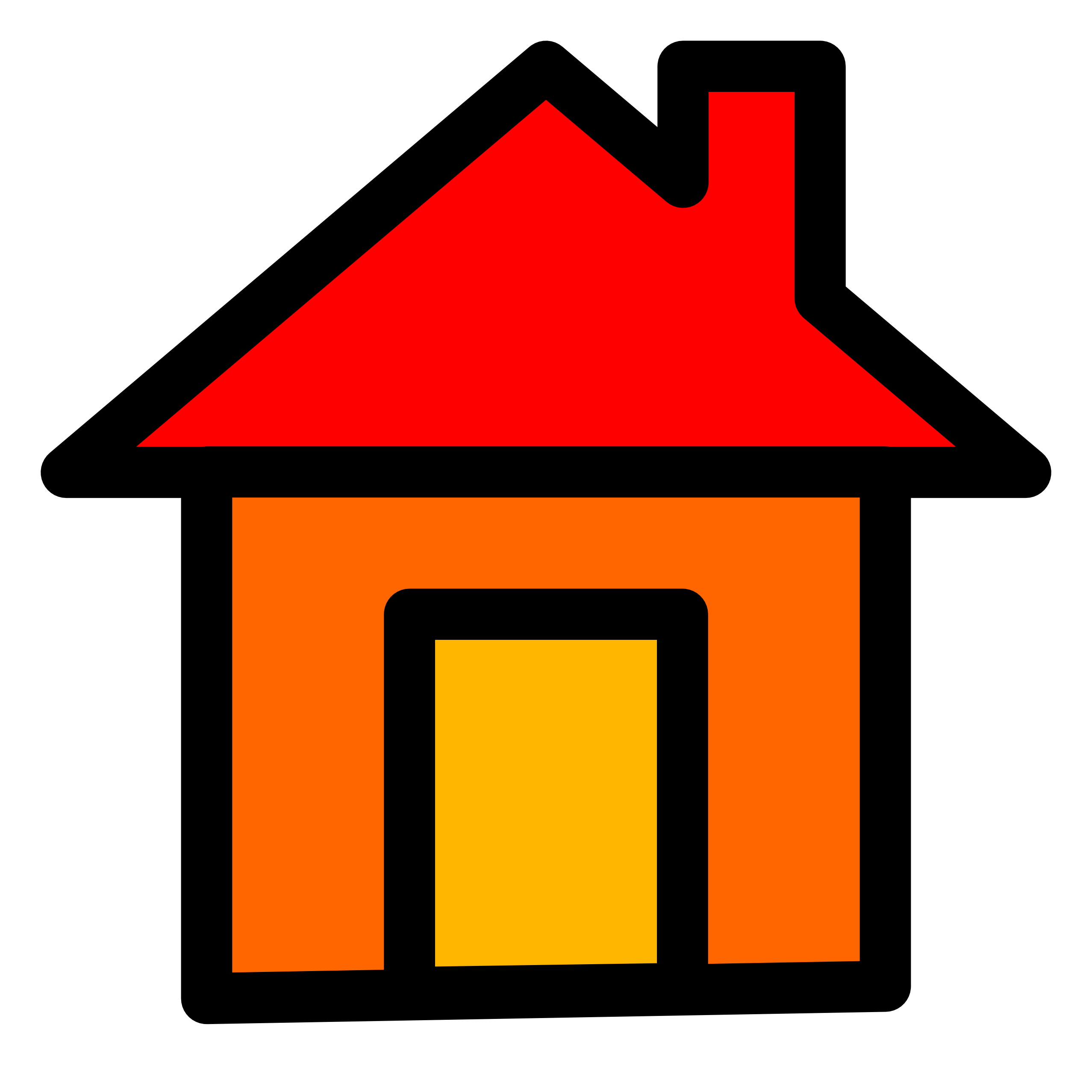 clipart rumah-#1