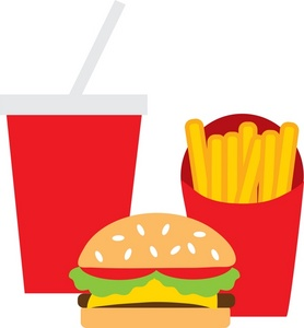 Fast Food Clip Art Cartoon - ClipArt Best - ClipArt Best