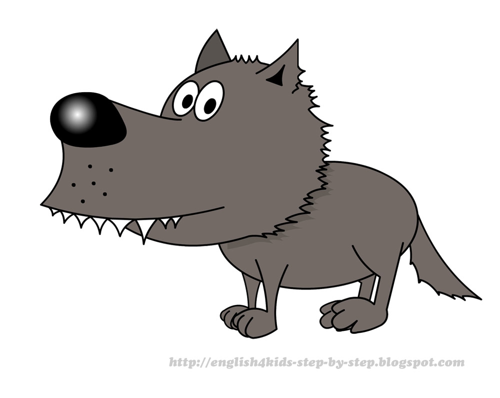 Cartoon Wolf - ClipArt Best