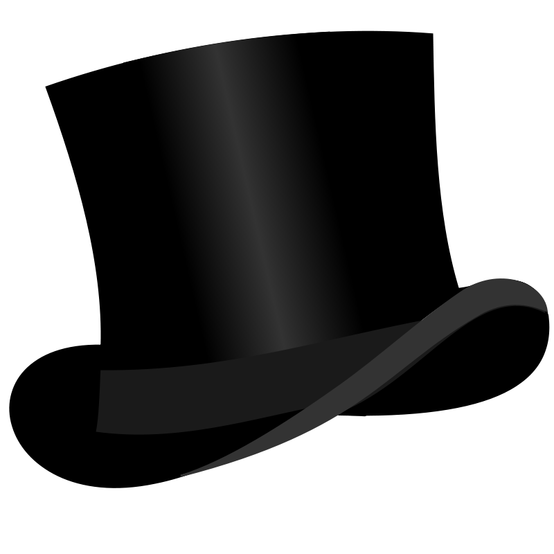 Top Hat Png Clipart Best