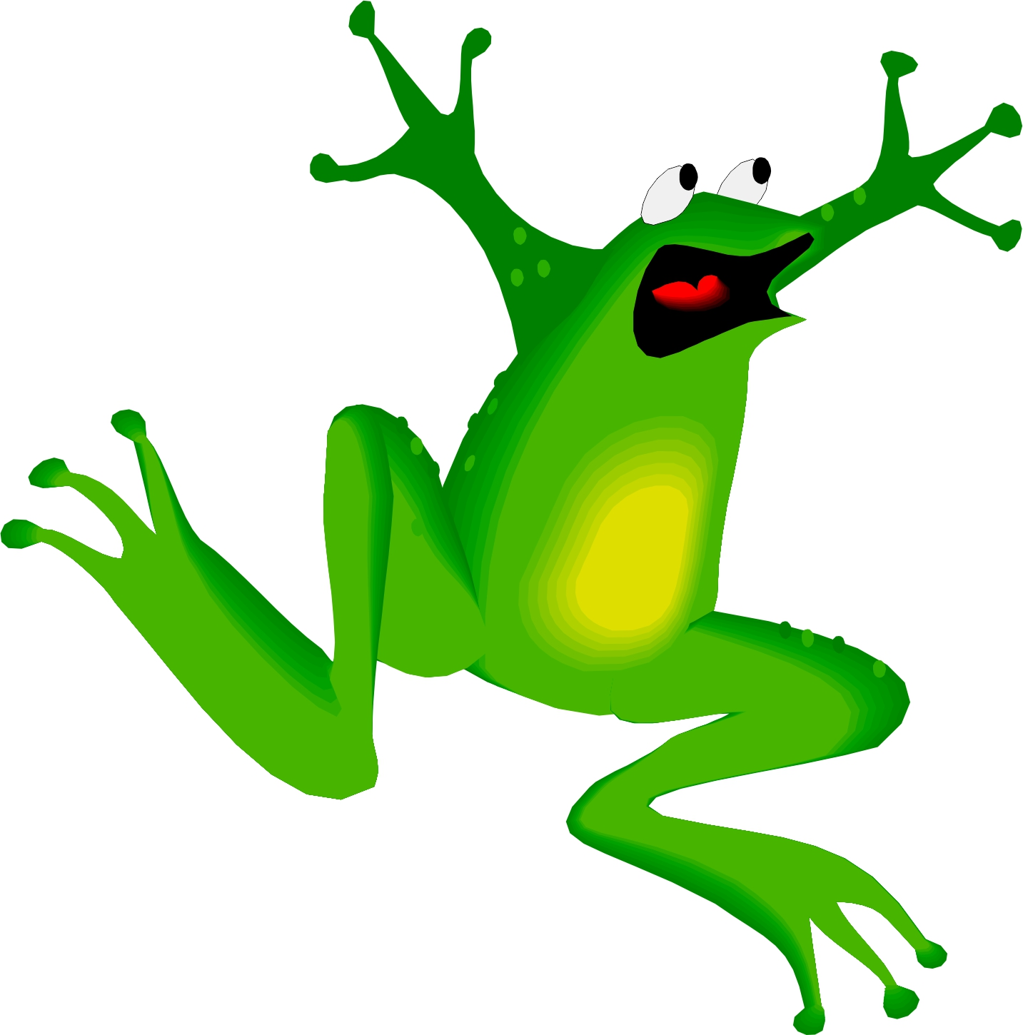 Animated Frogs Pictures - ClipArt Best