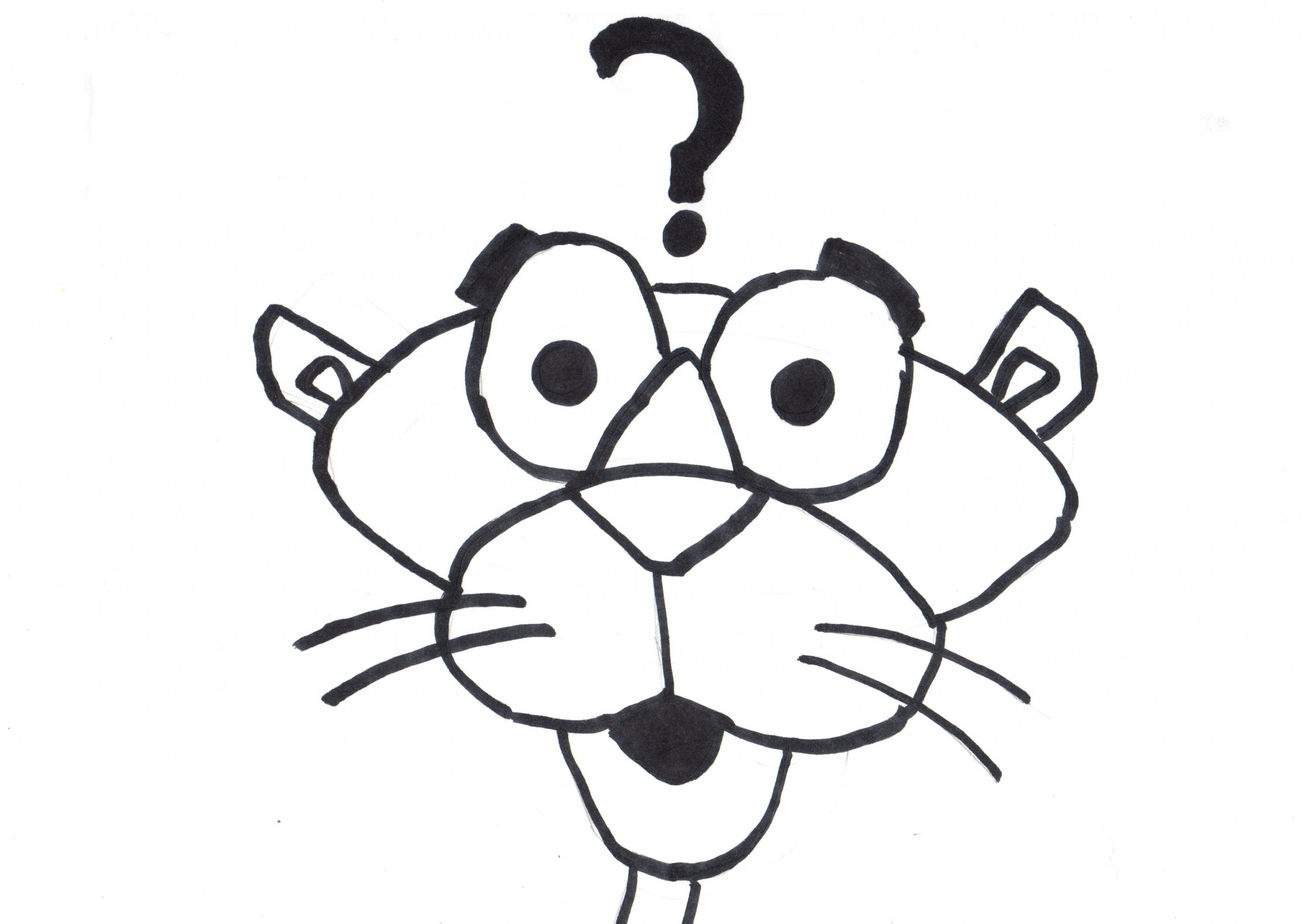 panther paw coloring page panther paw coloring page