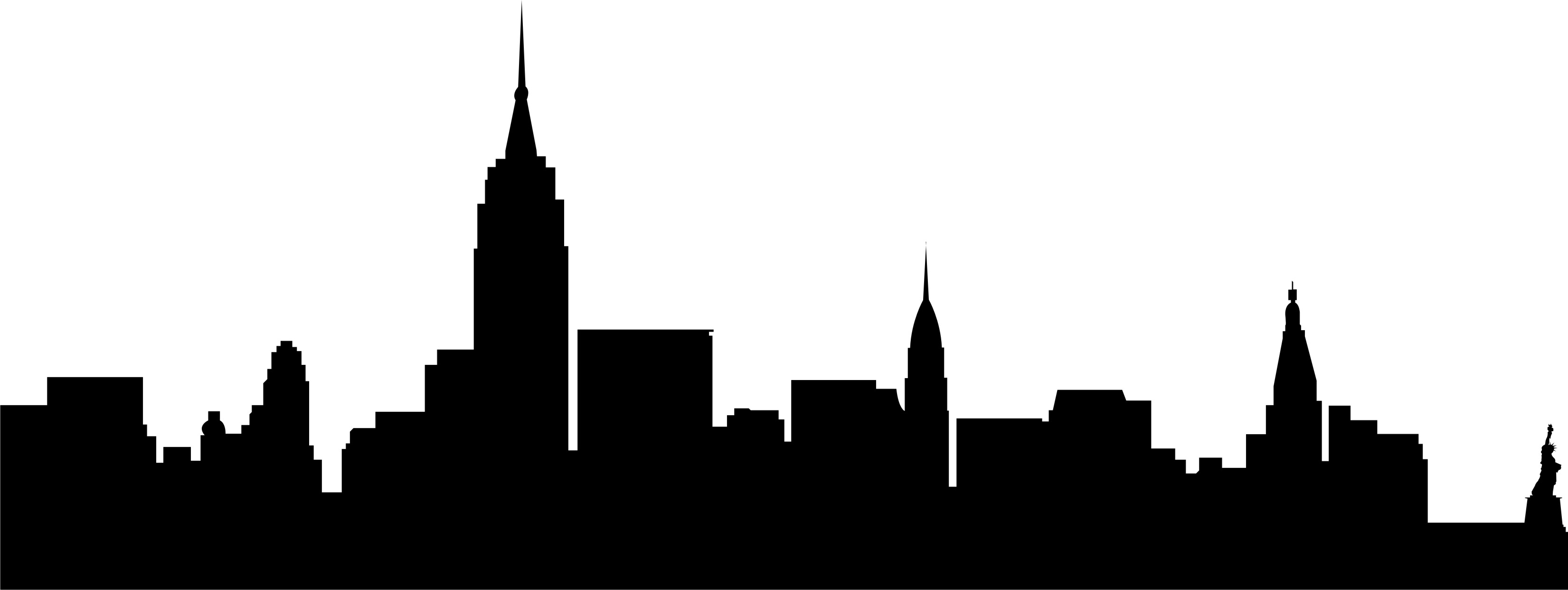 Images For Gt New York Skyline Black And White Silhouette