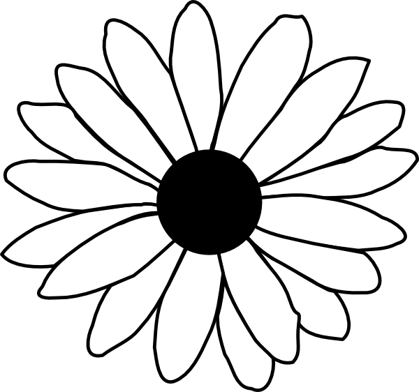 Daisy Flower Template | Free Download Clip Art | Free Clip Art ...