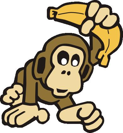 Monkey Banana Clipart - ClipArt Best