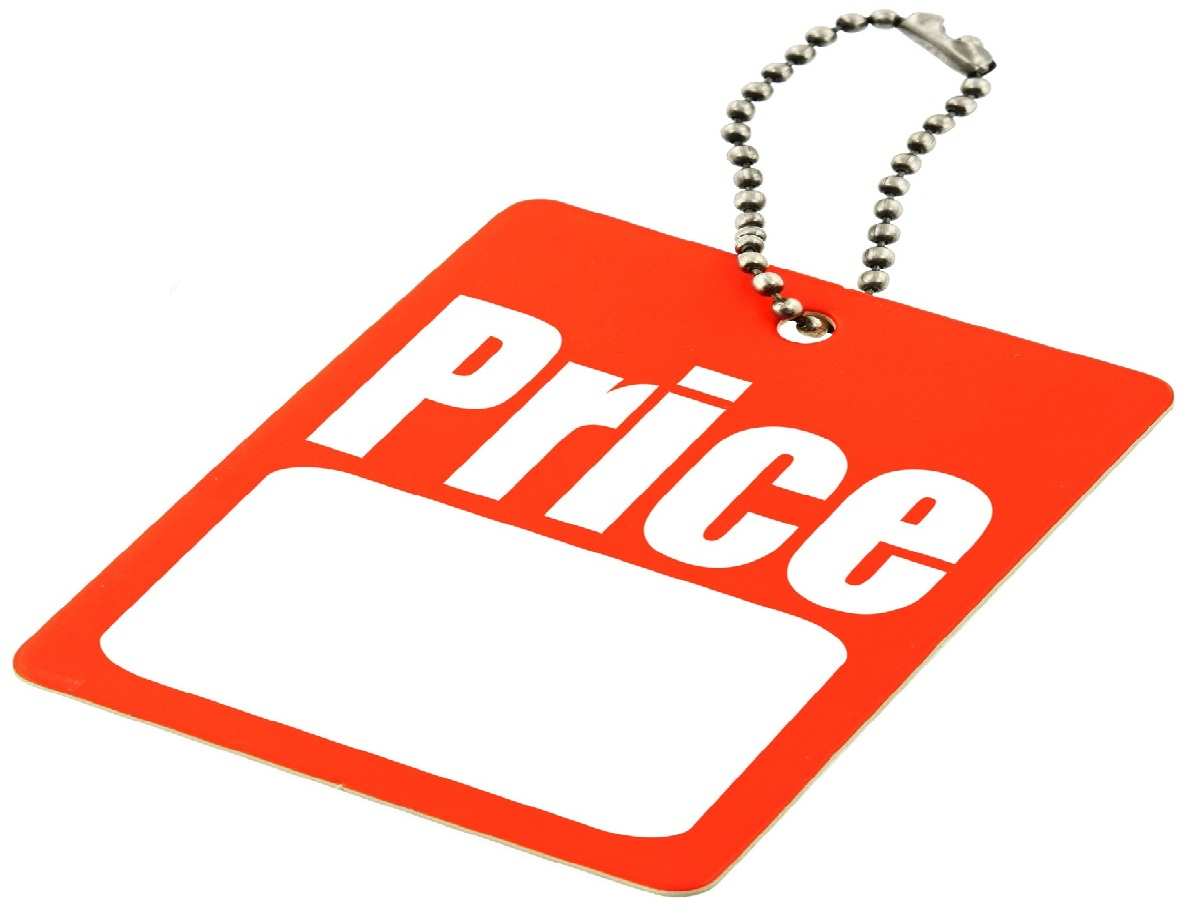 Blank Price Tag - ClipArt Best