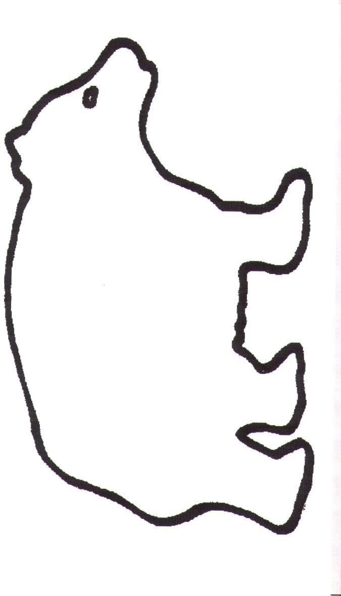 Bear Head Template - ClipArt Best