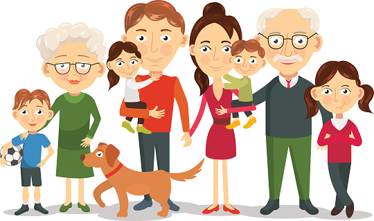 Family Images Cartoons Clipart Best