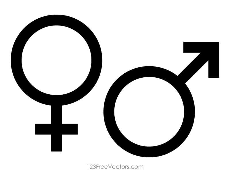 male gender symbols clipart best