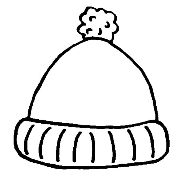 free coloring pages winter hats top hat coloring page free winter