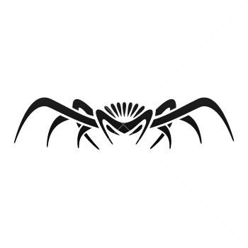 tribal spider logo clipart best. Black Bedroom Furniture Sets. Home Design Ideas