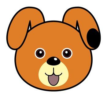 Cartoon Dog Face - ClipArt Best
