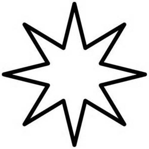 Christmas star clip art black and white clipart best