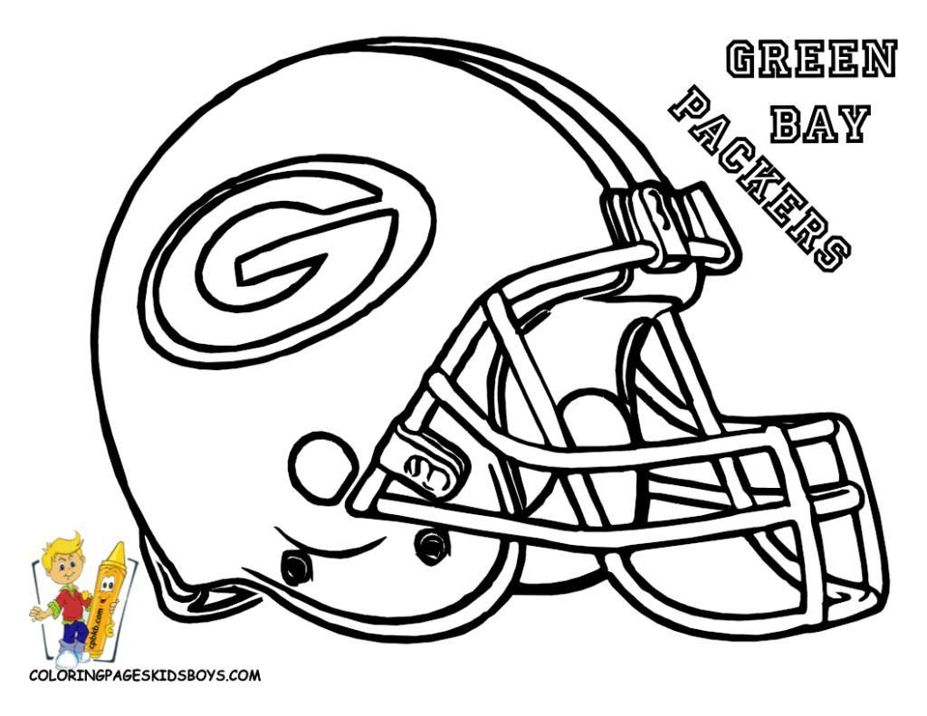 Printable Football Helmets ClipArt
