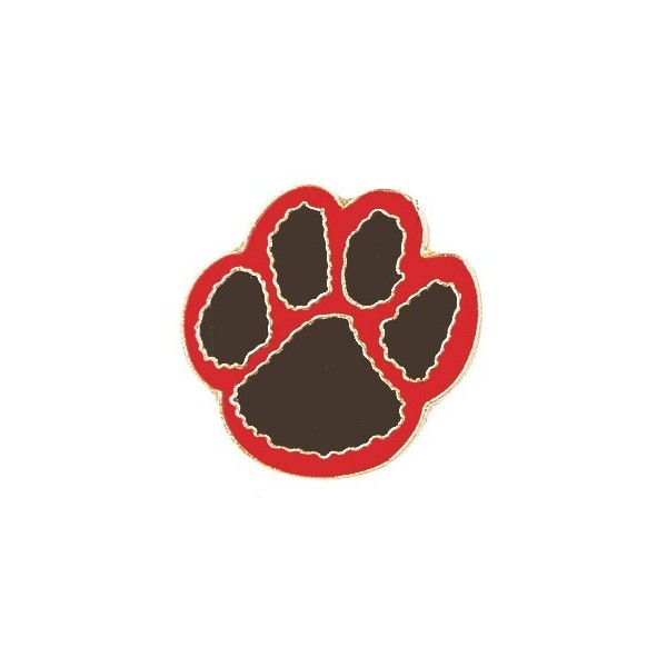 red panther paw clipart best cougar paw clipart free cougar paw clipart