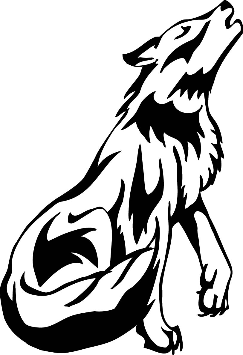 Wolf Drawing Images Stock Photos amp Vectors  Shutterstock