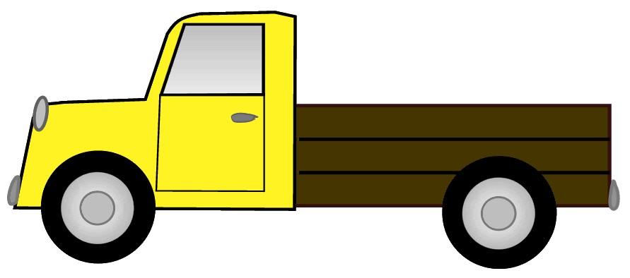 Clipart Truck - Tumundografico