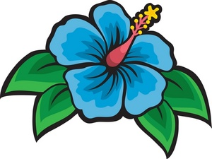 Cartoon Hibiscus Flower - ClipArt Best