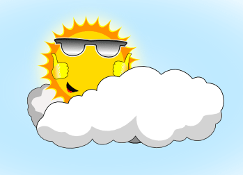 Sunny Weather Cartoon Pictures Clipart Best