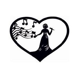 Music Note Heart - ClipArt Best