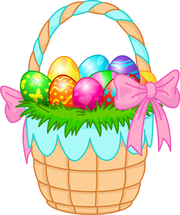 Easter Basket Clipart - ClipArt Best