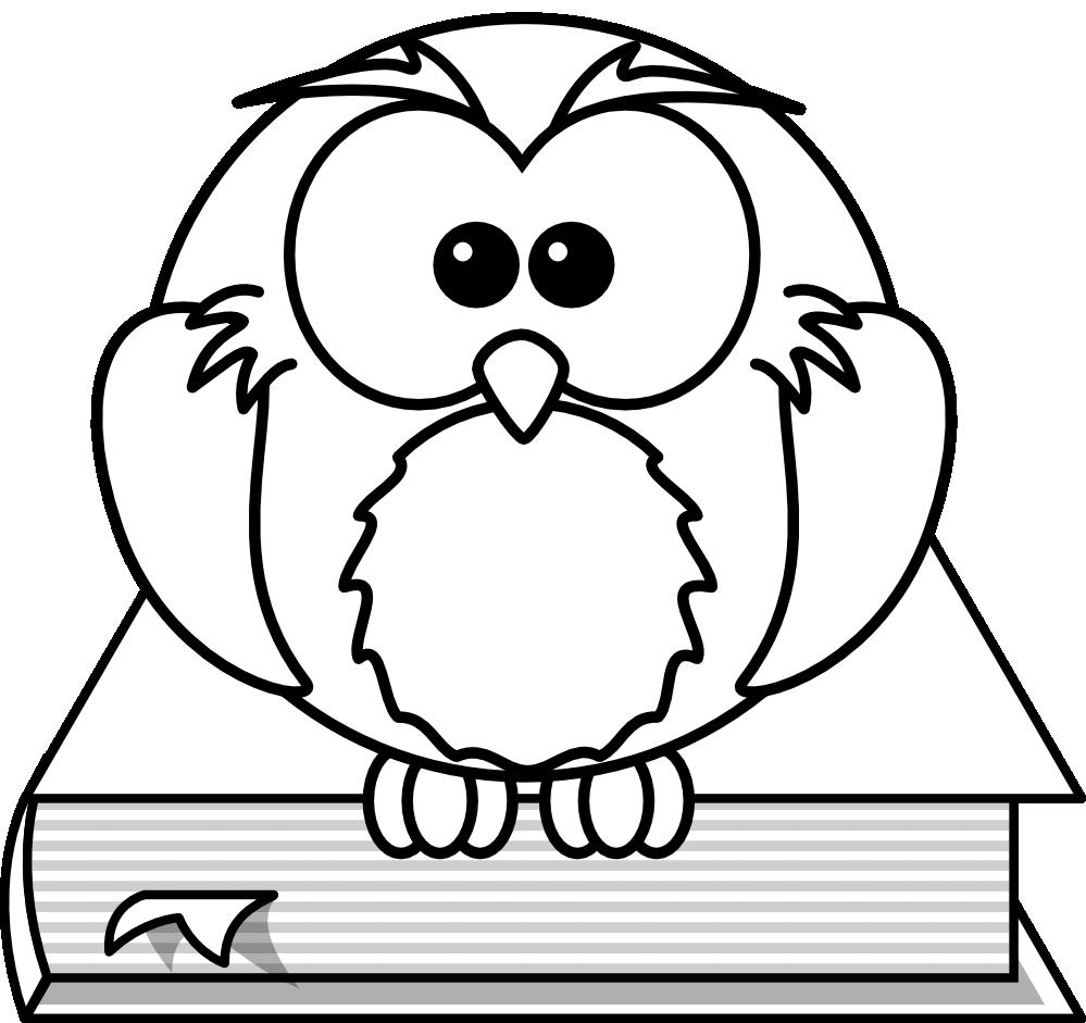 Owl cartoon drawing clipart best for Cartoon owl sketch