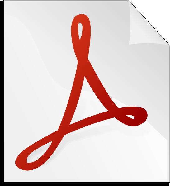 Adobe acrobat clip art - vector clip art online, royalty free
