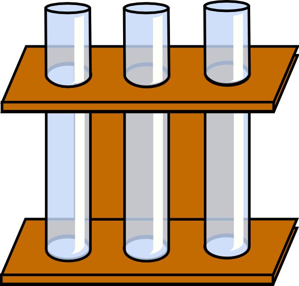 clipart test tubes and beakers - photo #26