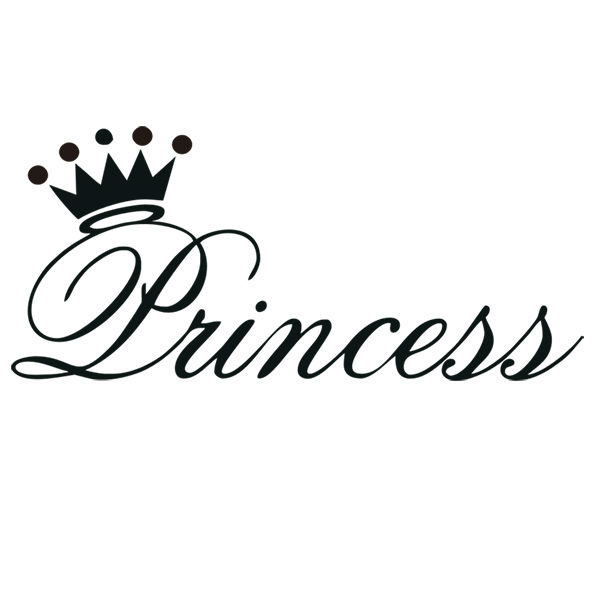Princess crown wall decor