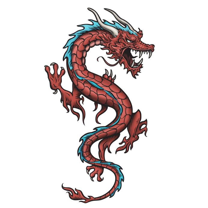 Chinese Dragon Illustrations - ClipArt Best