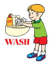 Kids Washing Hands Clip Art - ClipArt Best