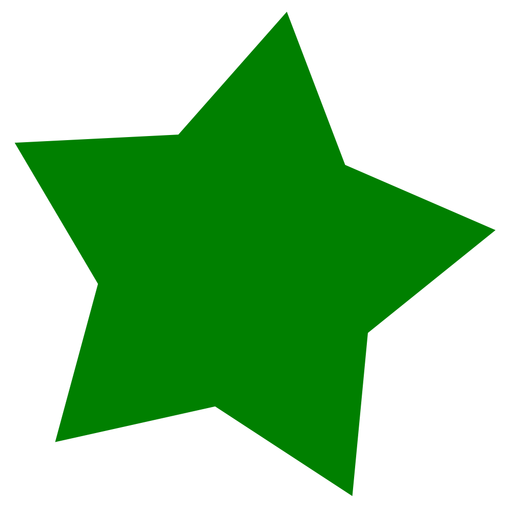 Green Star - ClipArt Best
