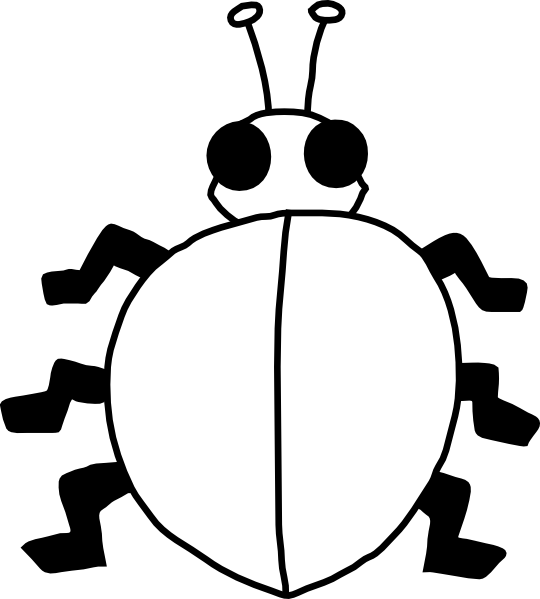 coloring pages of flying ladybugs - photo#28